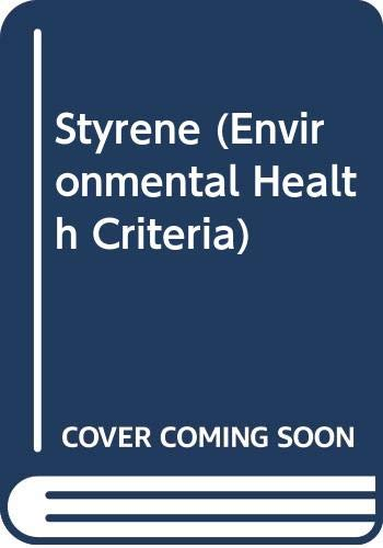 Styrene: World Health Organisation