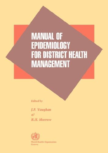 9789241544047: Manual of Epidemiology for District Health Management