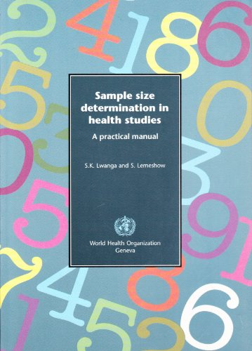 Sample Size Determination in Health Studies: A: Lwanga, S.K. et