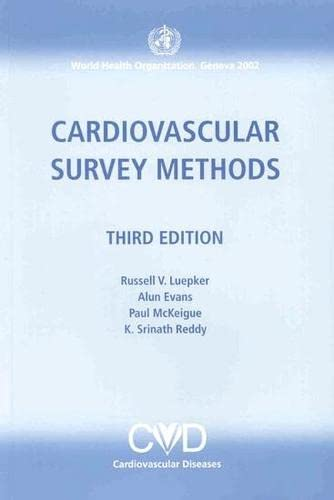 9789241545761: Cardiovascular Survey Methods