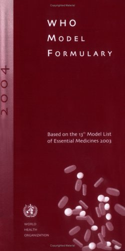 Who Model Formulary 2004: WHO Staff