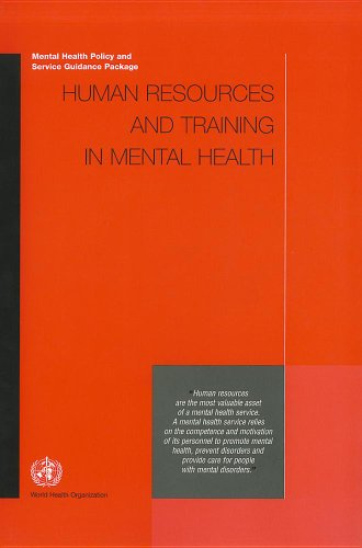 Human Resources and Training in Mental Health: World Health Organization