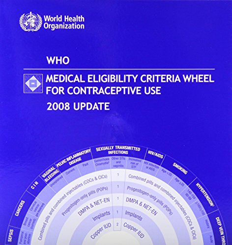9789241547710: WHO Medical Eligibility Criteria Wheel for Contraceptive Use