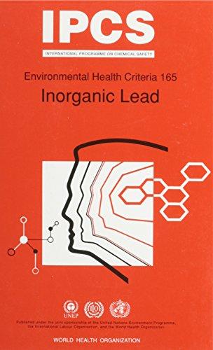 9789241571654: Inorganic Lead (Environmental Health Criteria)