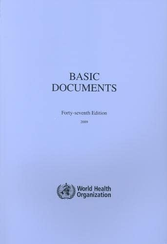 9789241650472: Basic Documents (Official Publication)