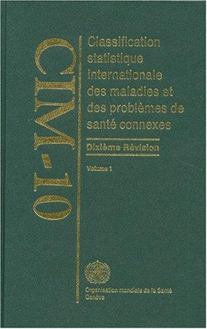 9789242544190: Who Icd 10cim 10 Tabular List Vol
