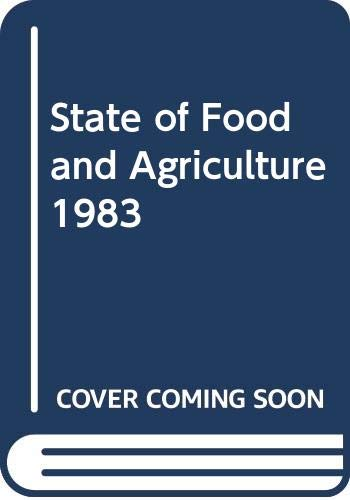 State of Food and Agriculture: Food and Agriculture