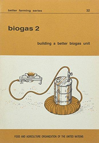 9789251023921: Biogas 2: Building A Better Biogas Unit (Better Farming Series)