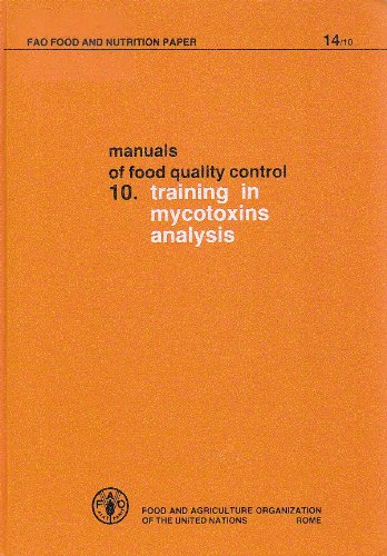 Manual of Food Quality Control: training in