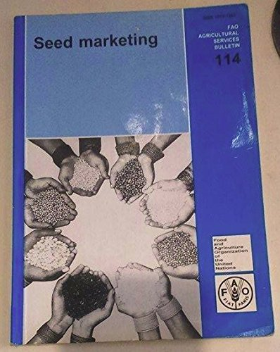 9789251035986: Seed Marketing (FAO Agricultural Services Bulletin)