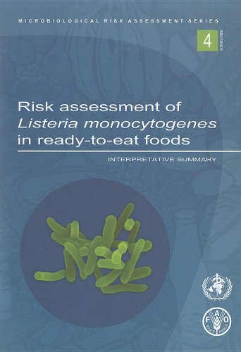 Risk Assessment of Listeria Monocytogenes in Ready-To-Eat Foods: Interpretati.