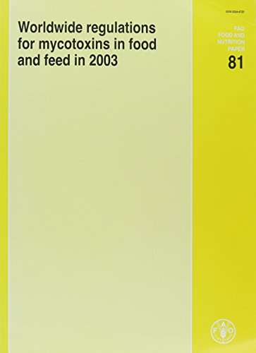 Worldwide Regulations For Mycotoxins In Food And Feed In 2003: FAO Food and N.