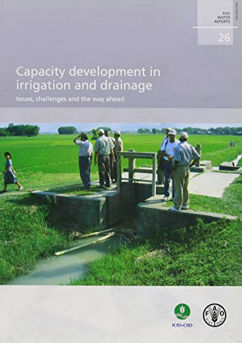Capacity Development In Irrigation And Drainage: Issues, Challenges And The W.