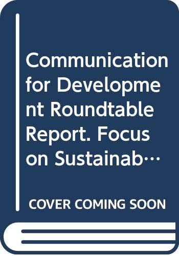 Communication For Development Roundtable Report: Focus On: Food and Agriculture