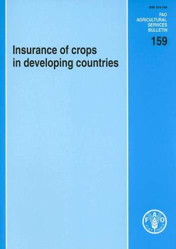 9789251052990: 159: Insurance of Crops in Developing Countries (FAO Agricultural Services Bulletins)