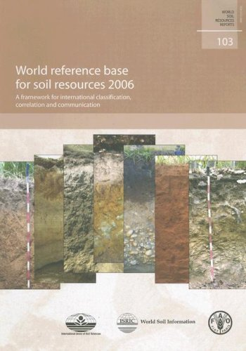World Reference Base for Soil Resources: A Framework for International Classi.