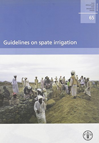 Guidelines On Spate Irrigation: FAO Irrigation And