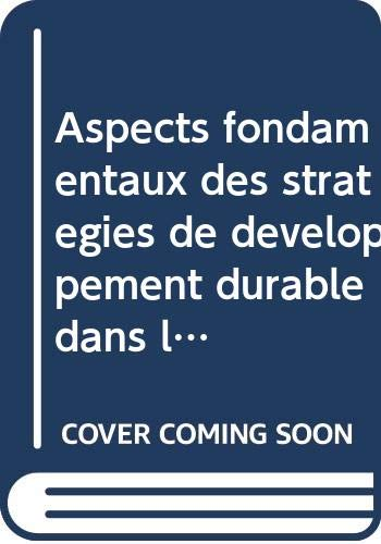 9789252033189: aspects fondamentaux des strategies de developpement durable dans les regions seches