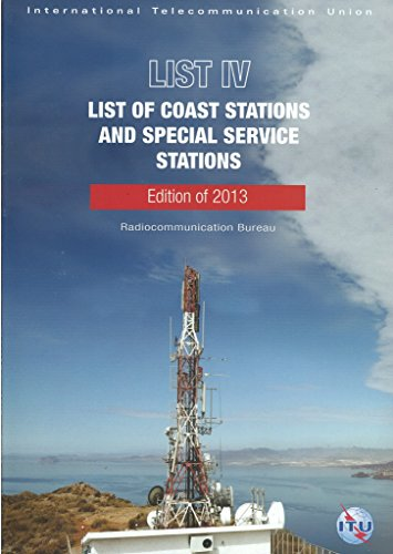 9789261144470: ITU List IV List of Coast Stations and Special Service Stations CD ROM