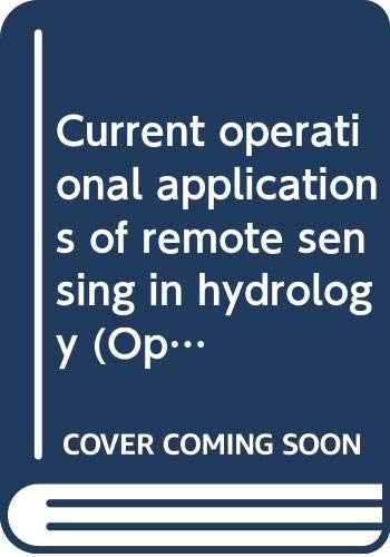 Current Operational Applications of Remote Sensing in: Rango, A. &