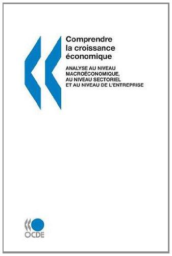 Comprendre La Croissance Economique Analyse Au Niveau Macroeconomique, Au Niveau Sectoriel Et Au ...
