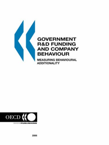 Government R&D Funding and Company Behaviour: Measuring Behavioural Additionality: OECD. ...