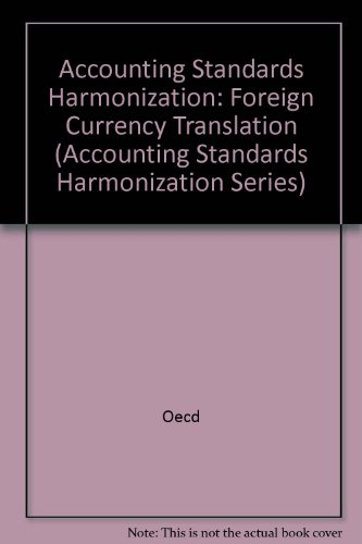 9789264027299: Foreign Currency Translation (Accounting Standards Harmonization Series)