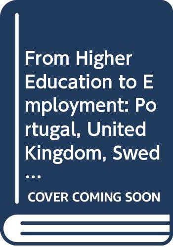 From Higher Education to Employment: Portugal, United: Organization for Economic