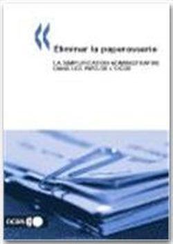 9789264100695: Eliminer La Paperasserie: La Simplification Administrative Dans Les Pays De L'Ocde
