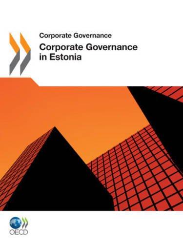 9789264118898: Corporate Governance In Estonia 2011