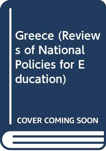 Reviews of National Policies for Education: Greece.: OECD