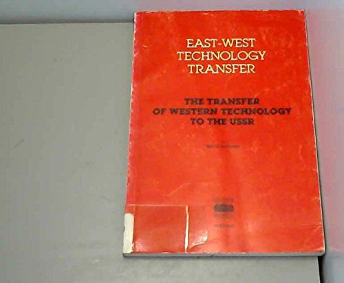 9789264127791: East-West Technology Transfer: The Transfer of Western Technology to the U.S.S.R.