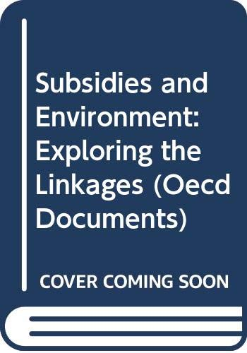 9789264148222: Road Transport Research: Subsidies and Environment: Exploring the Linkages (Oecd Documents)