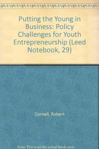 9789264183797: Putting the Young in Business: Policy Challenges for Youth Entrepreneurship (Leed Notebook, 29)