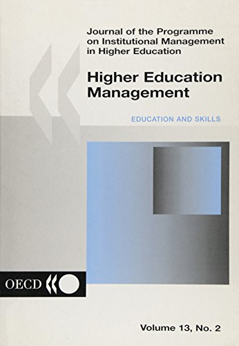 Higher Education Management: Volume 13 Issue 2: Imhe