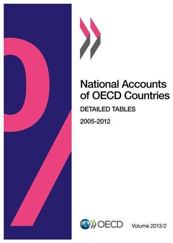 National Accounts of OECD Countries, Volume 2013 Issue 2: Detailed Tables: OECD