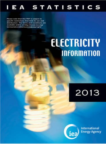 9789264203082: Electricity Information: 2013
