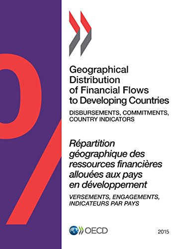9789264226425: Geographical Distribution of Financial Flows to Developing Countries 2015: Disbursements, Commitments, Country Indicators