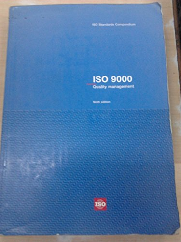 9789267103402: ISO Standards Compendium ISO 9000: Quality Management, 9th Edition (Print)