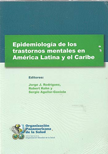 9789275316320: Epidemiologia de los trastornos mentales en America Latina y el Caribe/Epidemiology of mental disorders in Latin America and the Caribbean