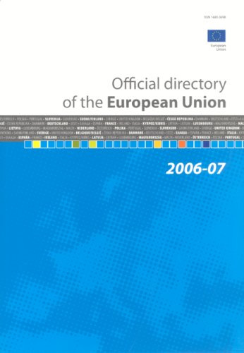 Official Directory of the European Union 2006-2007 (9789278404178) by Office For Official Publications Of The European Communities