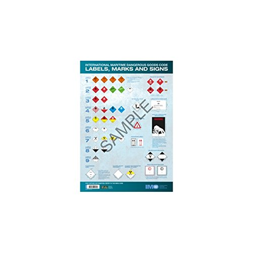 9789280116182: IMO Dangerous Goods Labels, Marks and Signs 2015