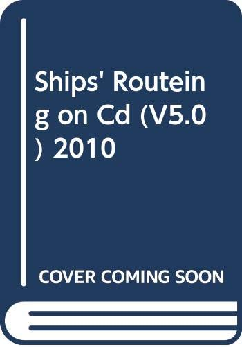 9789280170344: Ships' Routeing on Cd (V5.0) 2010