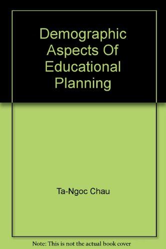 9789280312195: Demographic Aspects Of Educational Planning