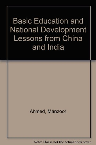 9789280610536: Basic Education and National Development Lessons from China and India