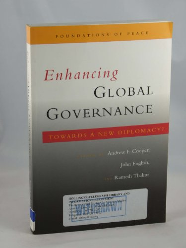 Enhancing global governance : towards a new diplomacy?: Cooper, Andrew F. (ed.)