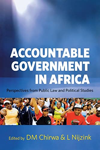 9789280812053: Accountable Government in Africa: Perspectives from Public Law and Political Studies