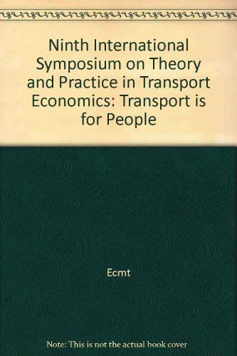 Transport is for people :; introductory reports and summary of the discussion: European Conference ...