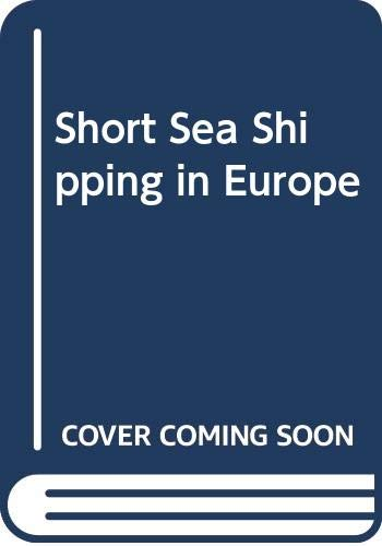 9789282112694: Short Sea Shipping in Europe