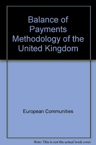 9789282534199: Balance of Payments Methodology of the United Kingdom